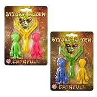 2XAlien Sling Shot - Sticky Alien Catapult