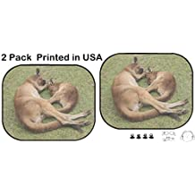 Liili Car Sun Shade Protector Block Damaging UV Rays Sunlight Heat for All Vehicles, 2 Pack Image ID: 28979989 Sleeping Mother and her Joey Ballarat Wildlife Park Victoria Au