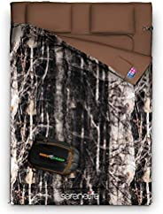Backpacking Sleeping Bag Camping Gear - Double Sleeping Bag for Adults/Teens w/ 2 Pillows, Bag - Outdoor Light