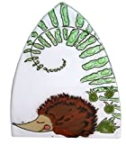 Handmade Fused Glass Night Light (Sleeping Hedgehog) For Sale