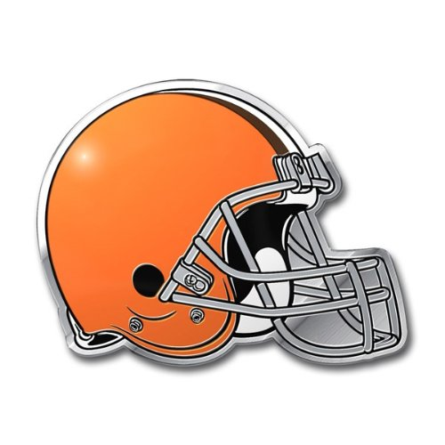 NFL Cleveland Browns Die Cut Color Automobile Emblem