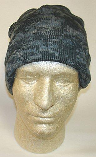 (Digital Marpat Midnight Black Blue Grey Camo Camoflauge Acrylic Watch Cap Hat Tactical Hunting Outdoor Military)