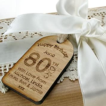 80th Birthday Ideas Gifts For Women Personalised Gift