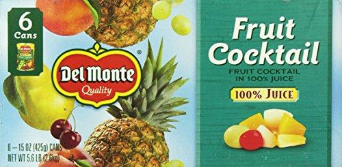 Del Monte Fruit Cocktail Cans, 15 oz, 6 Count by Del Monte (Image #3)'