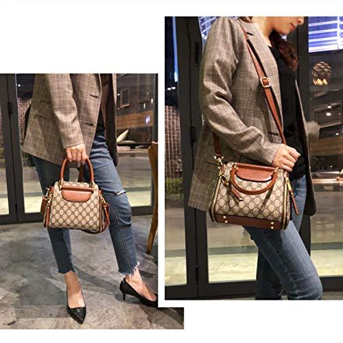 Portátiles De Simple 2019 Hombro Ola Bag Cuero Spfazj Mujer Coreana Bucket Moda Nueva La Versión Bolsa B Salvaje Messenger Bolsos Fq07wx6