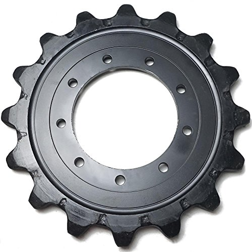 Takeuchi TL130 TL230 Drive Sprocket Gear Skid Steer Undercarriage 08801-66210 by Titan Attachments