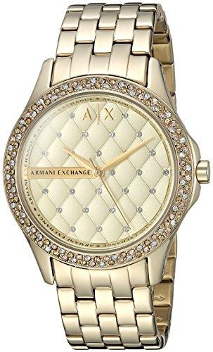 Armani Exchange Women's AX5216  Gold  Watch (Armani Exchange Women Watches)