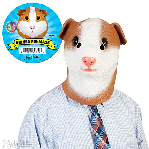 Archie McPhee Guinea Pig Mask - Guinea Pigs In Halloween Costumes