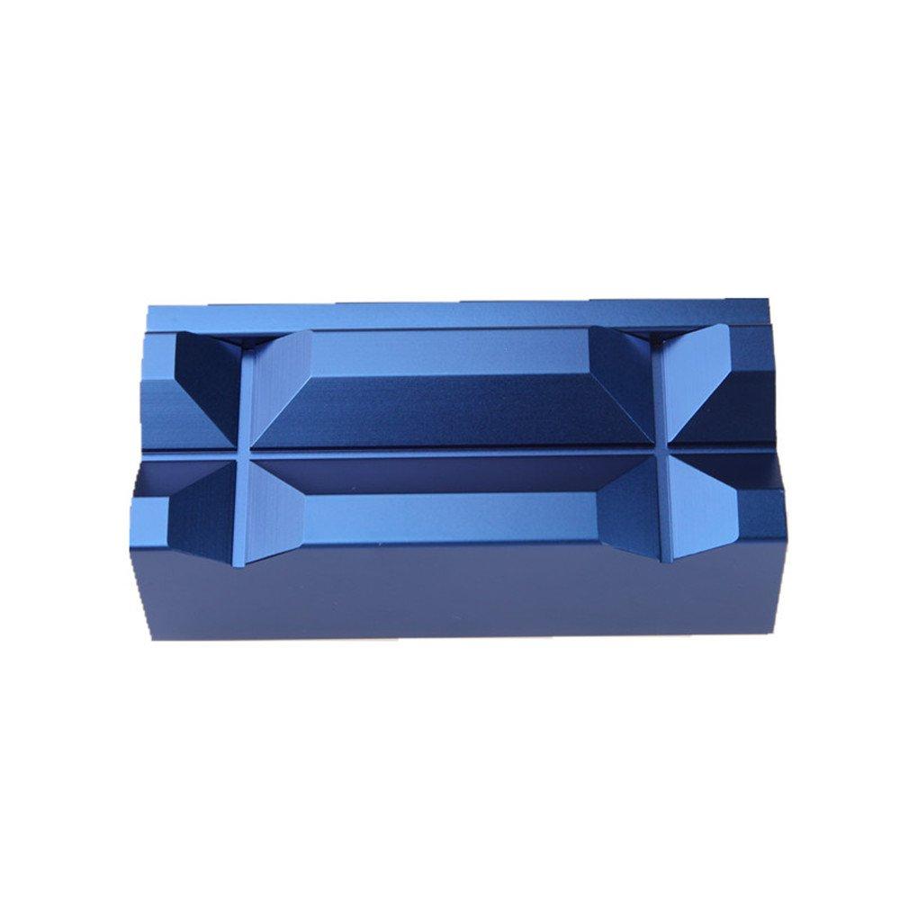 Aluminum Vise Soft Jaws Magnetic Blue