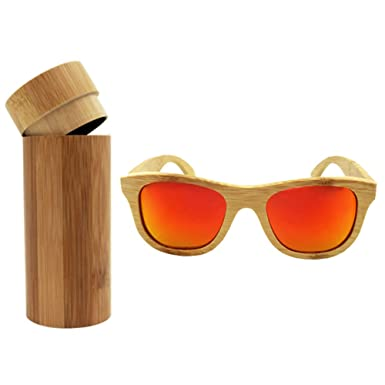 8f5f966442e 2017 Luxury Handmade Bamboo Wooden Sunglasses UV Eyewear Accessories For  Unisex Men Women Square Outdoor Sunglass
