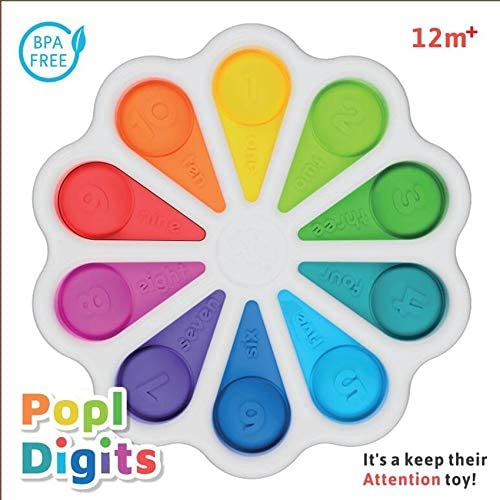 MZ Sensory Toys Push Pop Fidget Simple Dimple Toy Stress Reliever Toys for Kids Adults,Autism Special Needs Soft Silicone Fidget Toy A2
