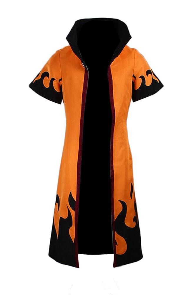 Souler Cos Cosplay Costume Uzumaki Naruto Rokudaime 6th Hokage Cloak/Robe