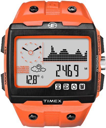 Timex Expedition WS4 Widescreen 4-Function Watch (Orange/...
