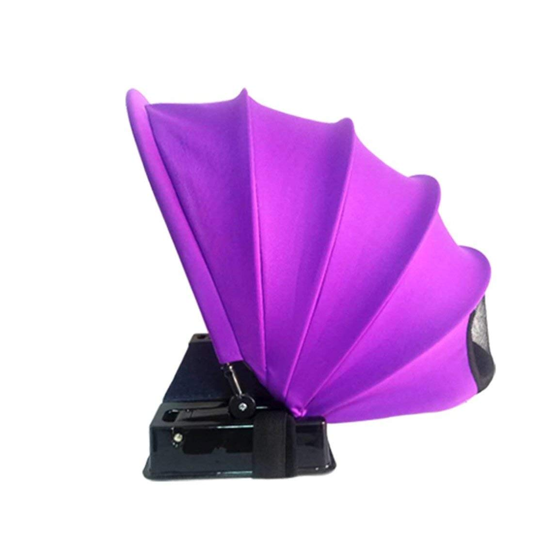 Fantasyworld Easy Pop Up Strand-Zelt Sun Shelter Zelt Sonnenschutz, Sonnenschutz wasserdicht Polyester Anti-UV-Strahlung Mini Fan