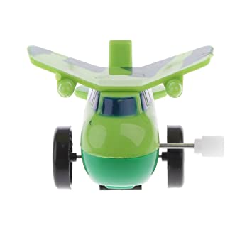 Cute Mini Airplane Clockwork Wind Up Airplane Toys Kids Toy Baby Toy New
