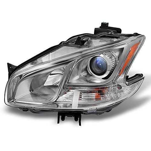 Fits Maxima 4Dr Sedan Projector Halogen Type Driver Left Side Front Headlight Head Lamp Replacement ()