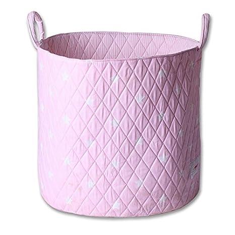 Nursery Minene SMALL Fabric Storage Basket Home 9 COLOURS Kids Cute
