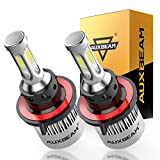 Auxbeam LED Headlight Bulb F-S2 Series LED Headlights with 2 Pcs of H13 9008 H13A P264T PJ264T LED Headlight Bulbs Hi-Lo Beam Bridgelux COB72W 8000lm - 1 Year Warranty