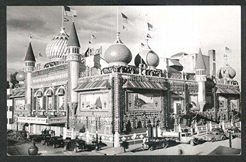 Mitchell Corn Palace SD Exposition RPPC postcard 1940s