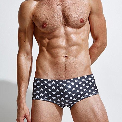 ZQ@QXPour une impression en nylon shorts de bain confortable pantalon de plage,XXL