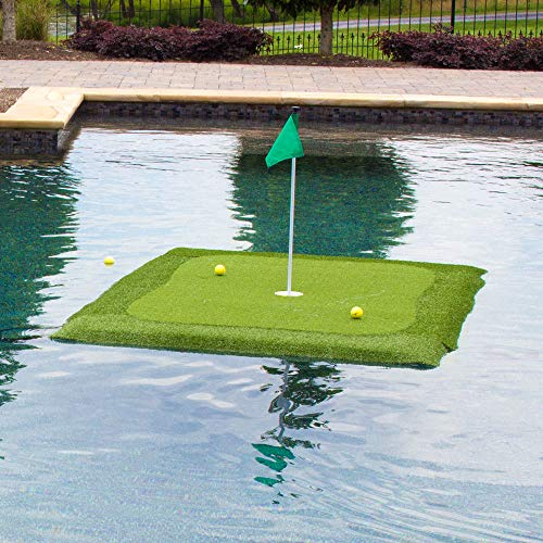 (Floating Golf Green for Pools and Ponds, Chipping Mat (4' x 6'))