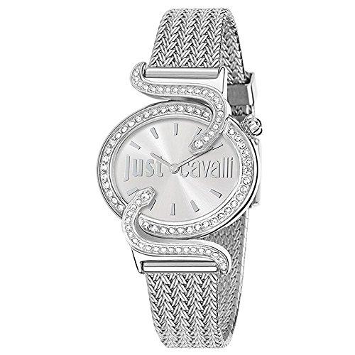 5ec45a61e355 Just Cavalli Reloj analogico para Mujer de Cuarzo con Correa en Acero  Inoxidable R7253591503  Just Cavalli  Amazon.es  Relojes