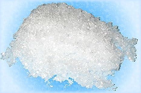 Inoxia - Polvo de sulfato de magnesio - Peso: 6 kg: Amazon.es: Industria, empresas y ciencia