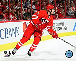 "Noah Hanifin Carolina Hurricanes 2016-2017 NHL Action Photo (11"" x 14"")"