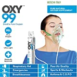 Oxy99 Portable Oxygen Can With Oxygen Face Mask