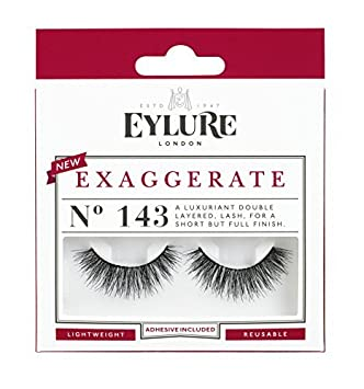 6b48f7c2a8a Eylure Strip Lashes Exaggerate Number 143 by Eylure: Amazon.co.uk: Beauty