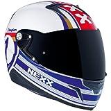 Nexx XR1R Full Face Motorcycle Helmet (Champion Blue, Medium)
