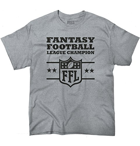 Fantasy Football Champion Sporting Goods Cool Graphic Sports T-Shirt Tee