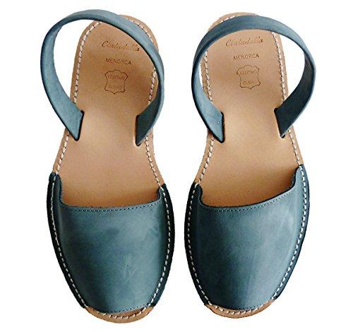 5 Platform of Tejano Menorcan cm Sandals Wedge Menorquinas 2 Avarcas with Nobuck Abarcas Avarcas Menorca Menorquin Leather qw0RFF