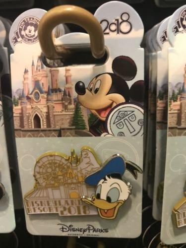 Disneyland Resort 2018 Donald Duck Pin