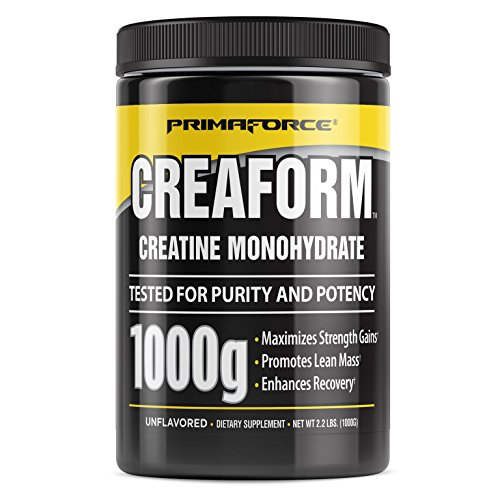 PrimaForce Creaform Powder Supplement – Maximizes Strength Gains/Promotes Lean Mass/Enhances Recovery – 1,000 grams by Primaforce