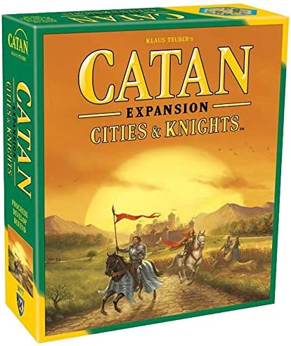 Catan: Cities & Knights Expansion - fifth Edition