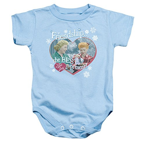 I Love Lucy 50's TV Series The Best Present Baby Infant Romper -