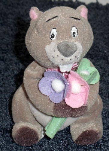"Adorable Winnie the Pooh Flower Bearing Gopher 7"" Plush Bean Bag Doll ()"