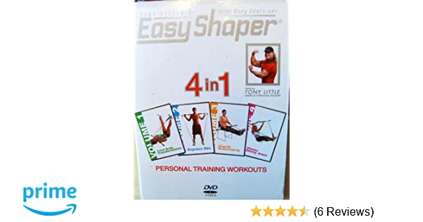 Amazon.com: Easy Shaper: Tony Littles 4 in 1 Personal Training Workouts: Tony Little: Movies & TV