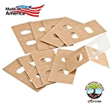 #8: Extreme Vertical Blind Repair Tabs For Sliding Glass Patio Door Or Windows. Just Clean, Peel And Stick. The Pvc Vane Savers Kit Repairs All Slats, Blinds With No Replacement Parts, Clips Or Slat 10 pk