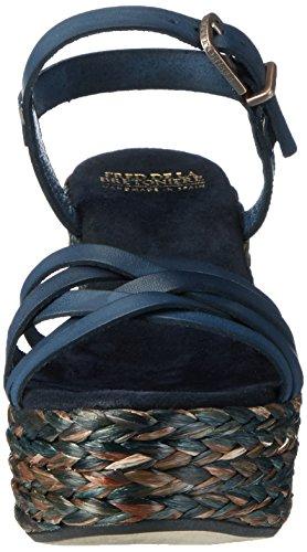 con Navy Fred Bretoniere la de Donna Blu Sandale Scarpe Cinturino qrrZXBnw