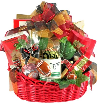 Fathers Day Gift Basket for Football Fans | Size Large