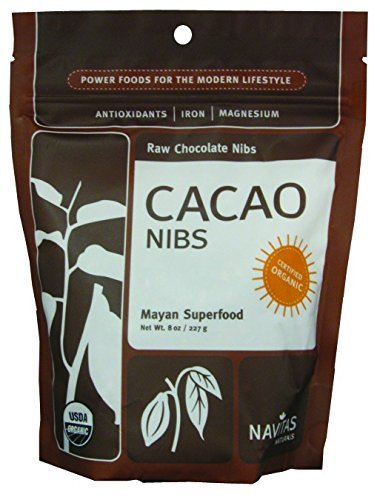 Navitas Organic Cacao Nibs, 8 Ounce (9-Pack)