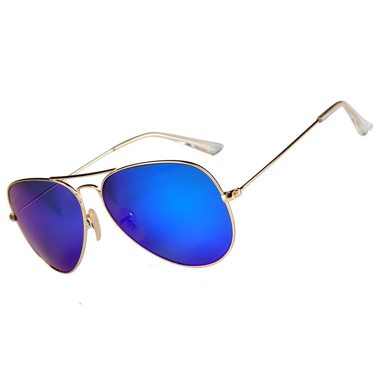 Mixshield Premium Flash Mirrored Aviator Sunglasses