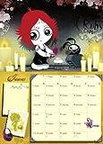 Ruby Gloom Spiral Date Book 2013
