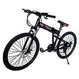 NextGen 26' 21 Speed Shimano Foldable Full Suspension Downhill Mountain Bike
