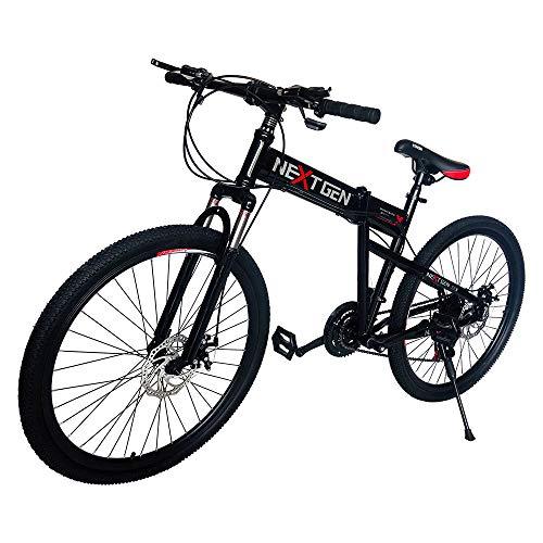 NextGen 14BK-R 14 Inch Balance and Coordination Bike with Training Wheels Red
