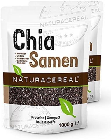 Semillas de Chia de Calidad Premium 2000g NATURACEREAL | Alto ...