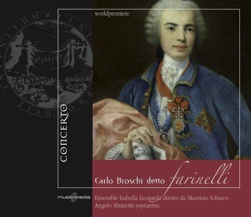 Price comparison product image Carlo Broschi detto Farinelli: Il Quaderno dell'Imperatrice (The Empress' Notebook (1753),  Vol.1) by Manzotti (2009-02-24)
