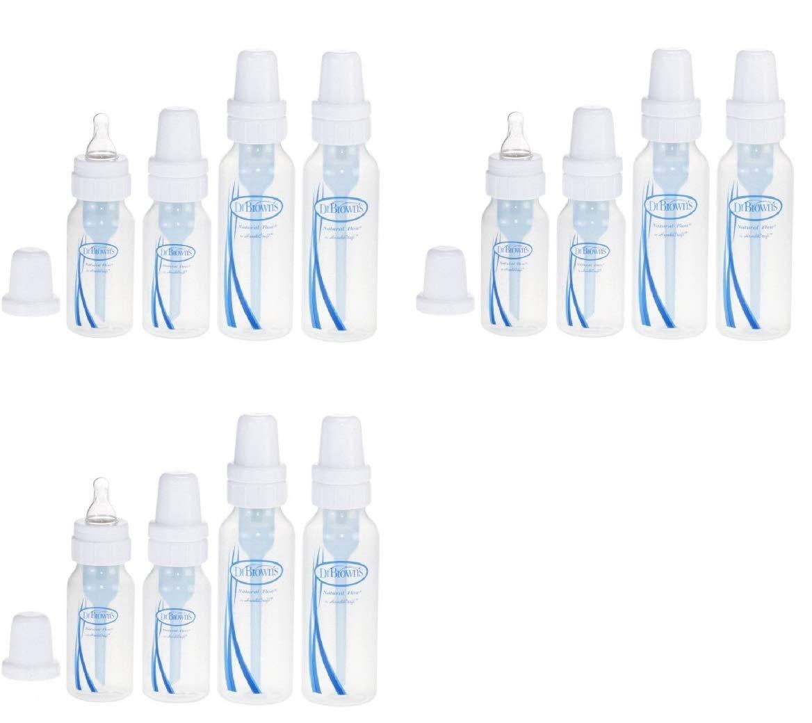 2-4 oz bottles Dr 2-8 oz bottles and Browns Bottles 4 Pack